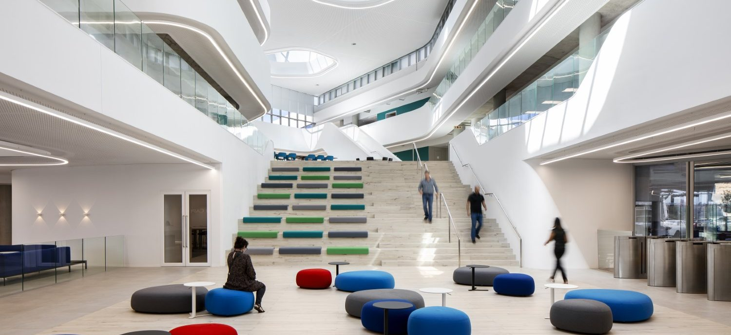 Capitec Bank's new HQ features innovative interior architecture that drives productivity and operational efficiencies