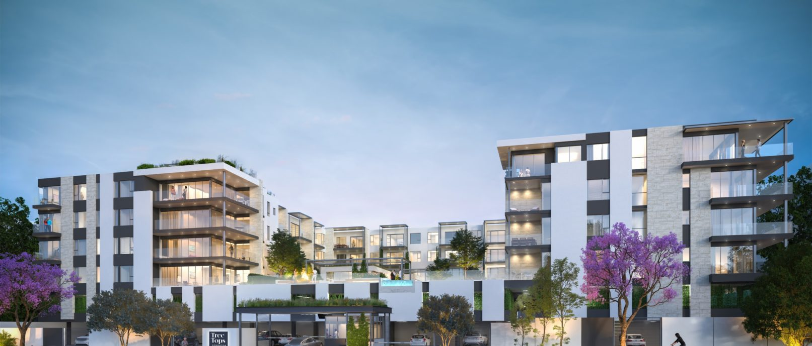 dhk unveils contemporary apartment block inspired by the world's largest urban forest