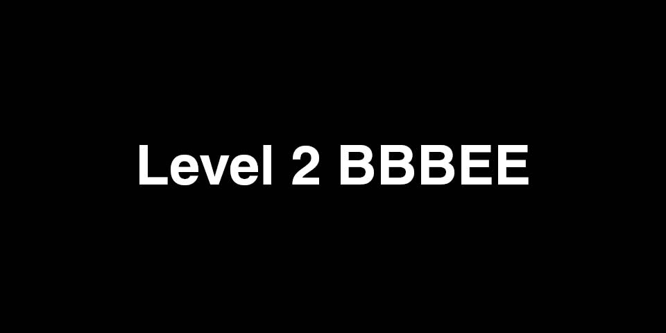dhk is proud to announce that it has achieved a level 2 BBBEE status